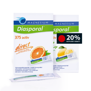 Magnesium-Diasporal active Aktion in der Pilgerbrunnen Apotheke