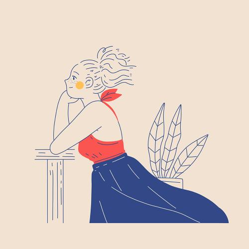 Illustration: Adrianne Walujo (mixkit.co)
